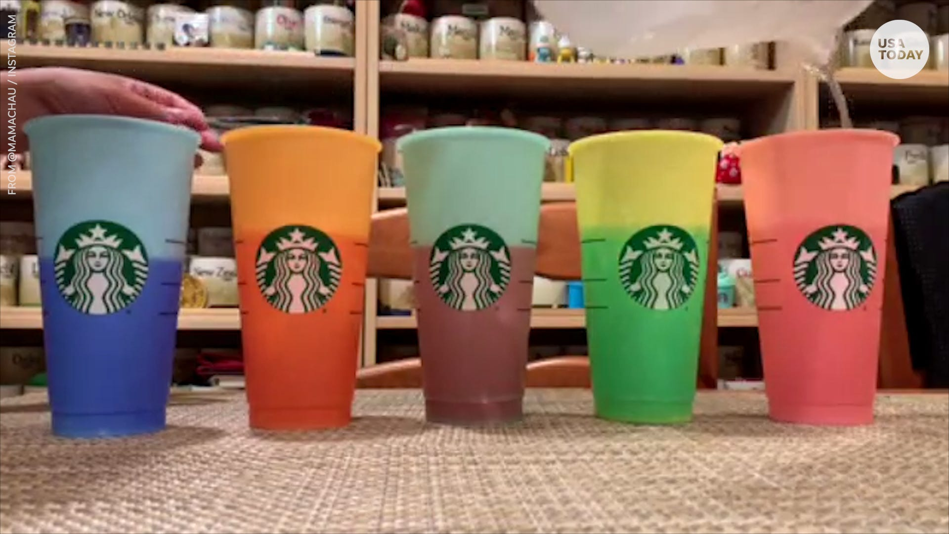 ceaba6cc411 Starbucks' color-changing cups are selling out: where to find one