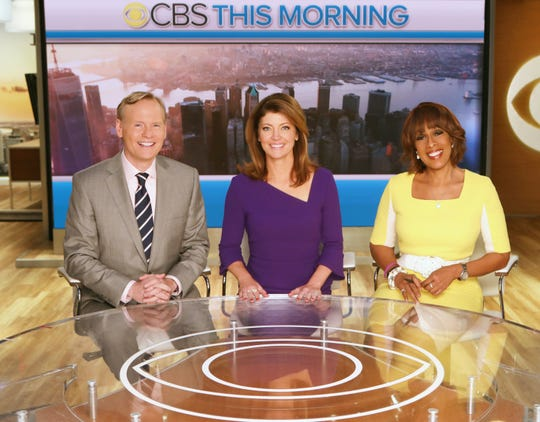 "A big anchor shakeup is rumored for ""CBS This Morning,"" now anchored by John Dickerson, left, Norah O'Donnell and Gayle King."