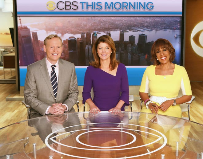 """A big anchor shakeup is rumored for """"CBS This Morning,"""" now anchored by John Dickerson, left, Norah O'Donnell and Gayle King."""