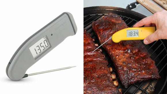 Get your hands on a great meat thermometer—just in time for grilling season.