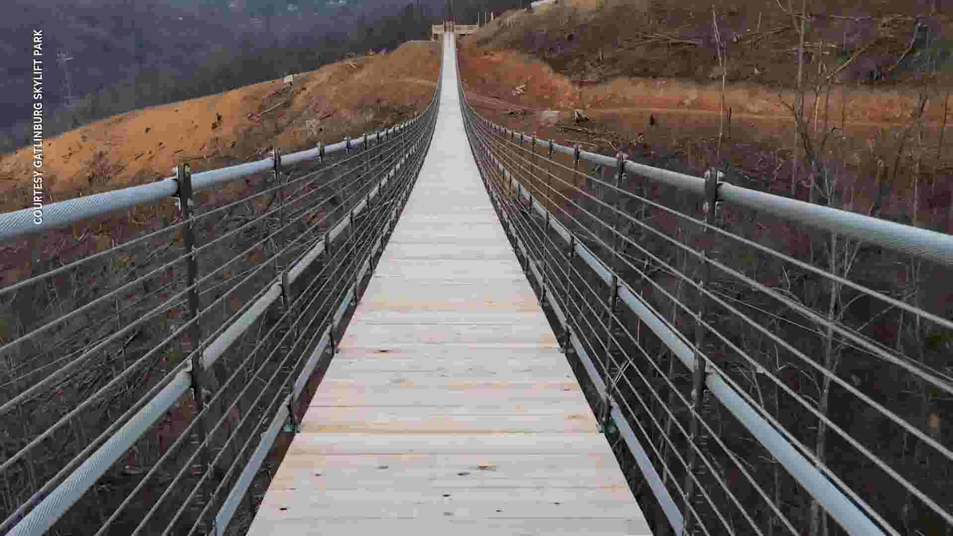 Insanely long pedestrian bridge opens in Tennessee