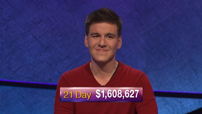 """James Holzhauer continues to rack up the big-money wins on """"Jeopardy!"""""""