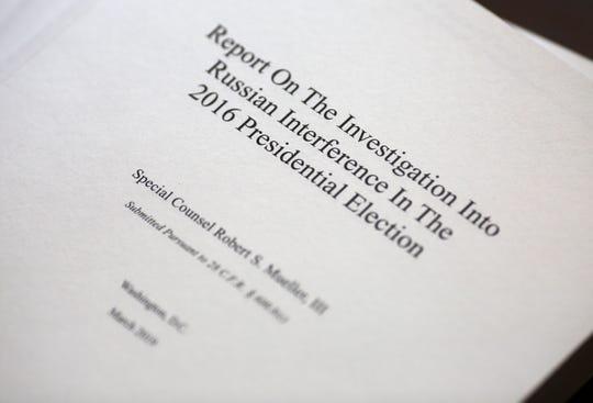 The Mueller report.