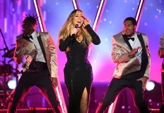 Honoree Mariah Carey performs onstage during the 2019 Billboard Music Awards at MGM Grand Garden Arena on May 01, 2019 in Las Vegas, Nevada.