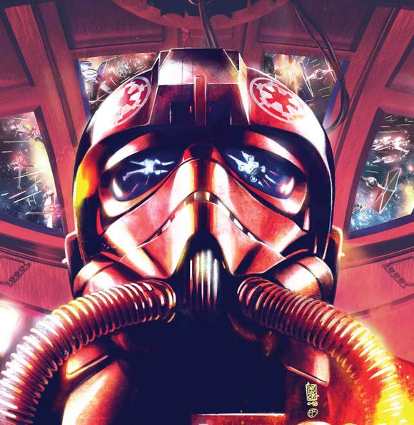 """Imperial hotshots are the central characters of the comic book """"Star Wars: TIE Fighter."""""""