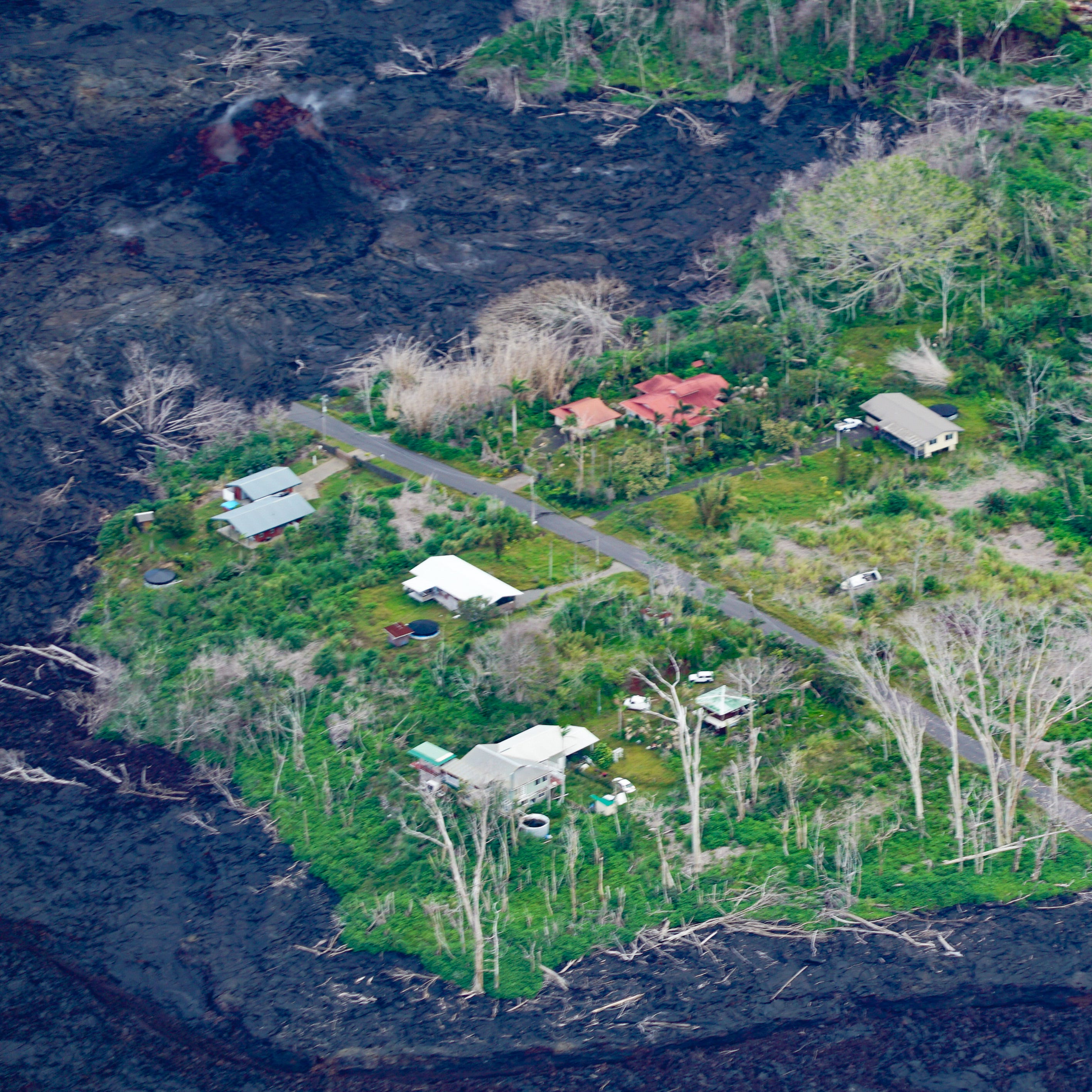 Hawaii volcano eruption before and after pictures: How Kilauea has changed the Big Island