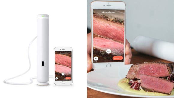 Make cooking dinner fun again with this sous vide cooker.