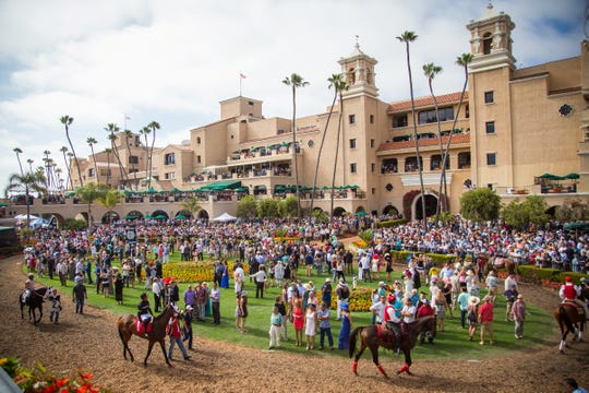 The San Diego-area Del Mar Thoroughbred Club, which was founded by Bing Crosby and other Hollywood celebrities, has always had star power.