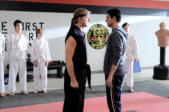 "YouTube's martial arts series ""Cobra Kai"" will be back for a third season next year."