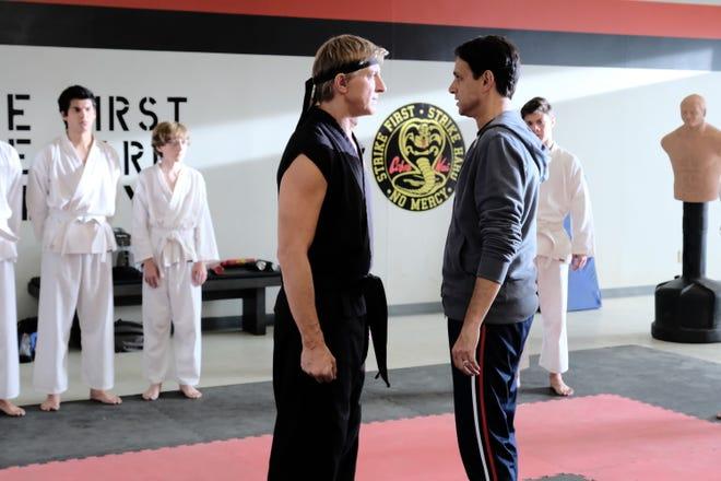"YouTube's martial arts series ""Cobra Kai"" will be back for a third season next year."