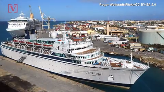 Scientology cruise ship to remain under quarantine in Curacao because of measles
