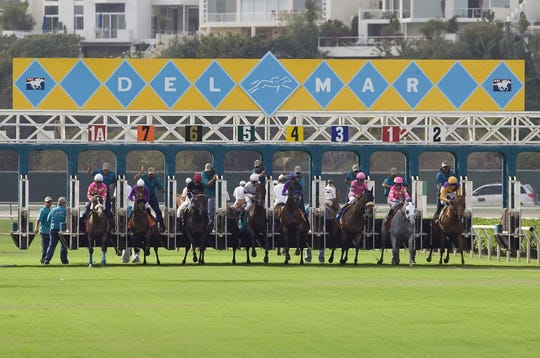 The San Diego-area Del Mar Thoroughbred Club, founded by Bing Crosby and other Hollywood celebrities, has always had star power.