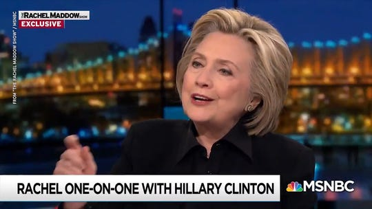 'You can have the election stolen from you,' Hillary Clinton warns 2020 Democrats