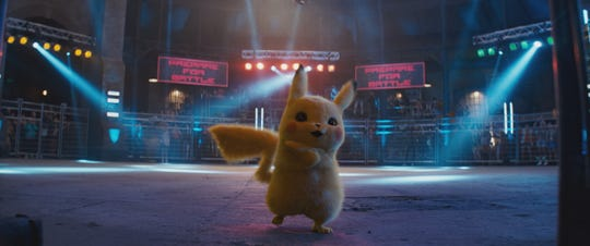 """Usually, Pikachu only says """"Pika, pika."""" In """"Pokemon: Detective Pikachu,"""" the critter speaks English and has the irreverent voice of Ryan Reynolds."""