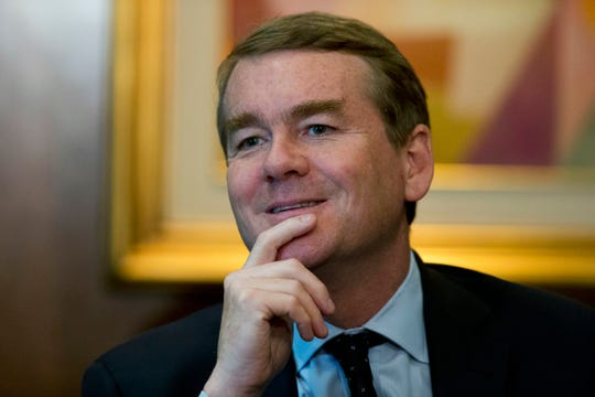 Sen. Michael Bennet, D-Colo., says the country faces enormous challenges.