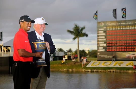 Tiger Woods will be Donald Trump's guest at the White House on Monday.