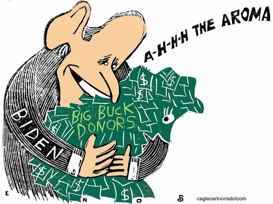 Biden's big bucks