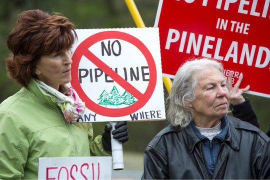 On Friday, May 3rd, environmental advocates along with others hold a demonstration in opposition to the Southern Reliability Link (SRL) Pipeline. Despite being in ongoing litigation, NJNG's SRL pipeline has started construction in Ocean County, Burlington County and scenic areas of the Pinelands in Manchester. Manchester, NJFriday, May 3, 2019