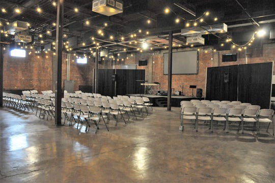 Connect Church Of Abilene has regular Sunday services in one of the two large rooms at 201 Mesquite Event Center.