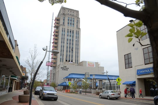 Heritage Tower is being renamed The Milton.