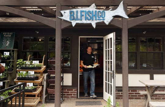 Owners of The Bainbridge Island Fish Company in Lynwood Center say they will work to source fish as locally as they can.