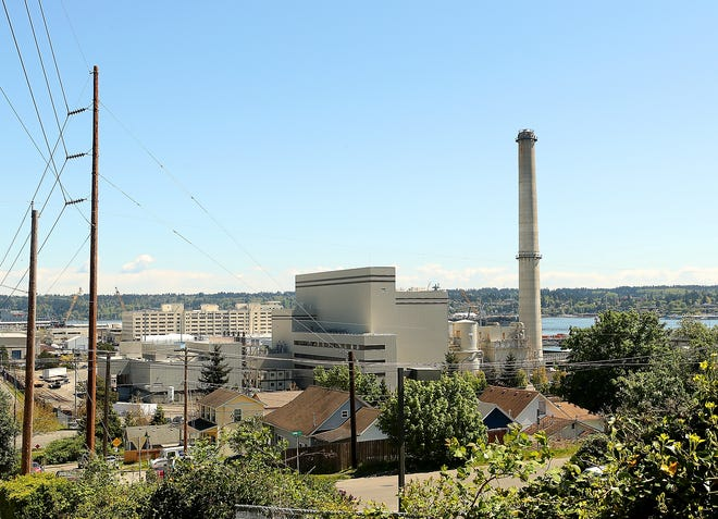 The Naval Base Kitsap steam plant, run on natural gas, provides heat at the Bremerton installation. But Navy leaders want backup power generation at both the Bremerton and Bangor bases and is seeking a developer to construct and operate new power plants.