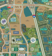 This map depicts the future 1.3-mile Lake Andrew Drive extension in Viera.