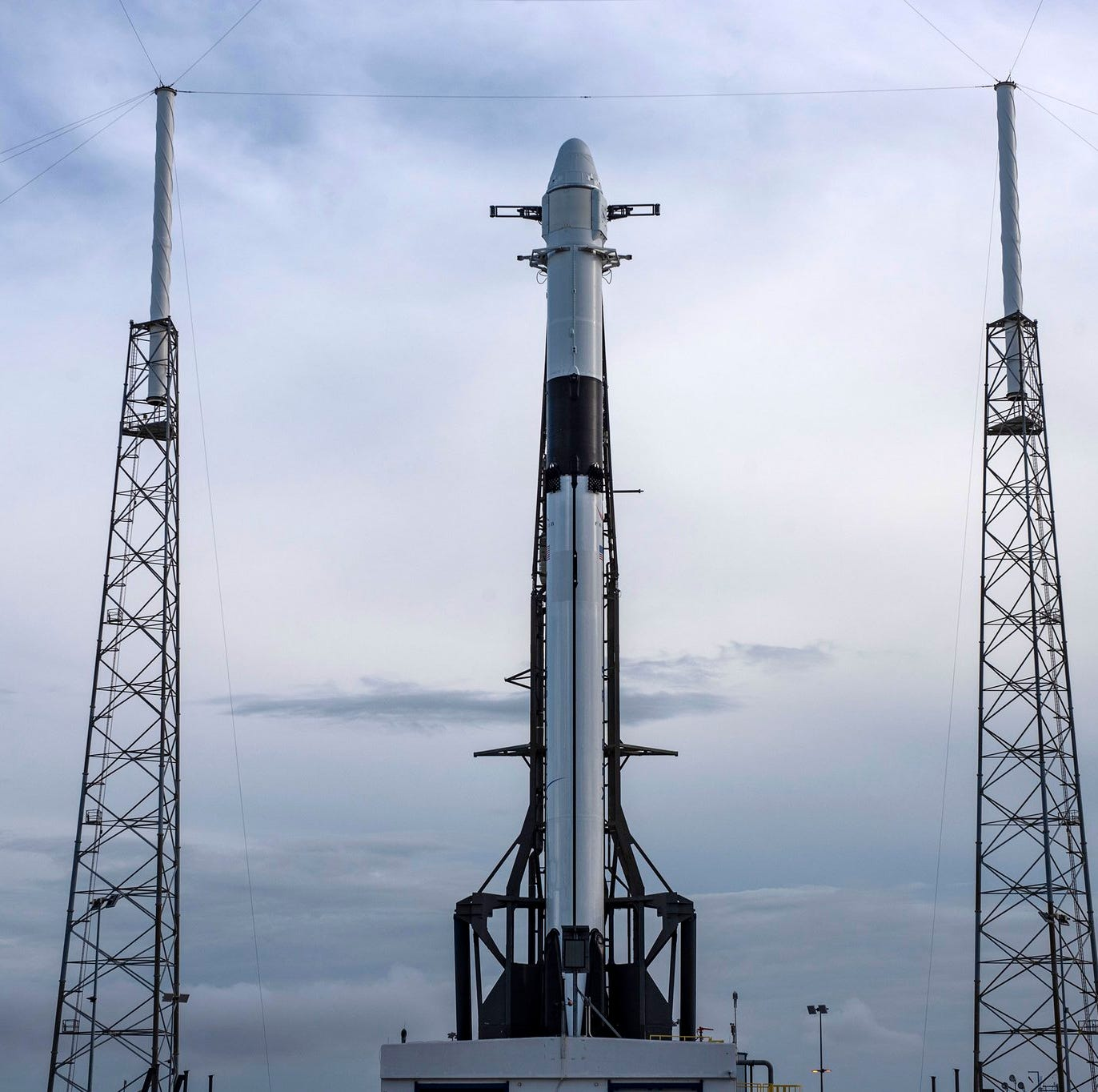 SpaceX set for second launch attempt after drone ship causes scrub