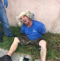 Drug bust: Wild blond wig couldn't save suspect from arrest