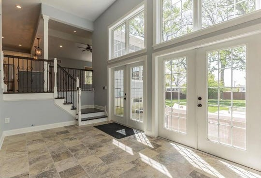 Nick and Tori Foles have listed their former home for $799,000. The 4-bedroom, 2-1/2-bath property is at 32 Hutchinson Ave. in Barrington, with a Haddonfield ZIP code.