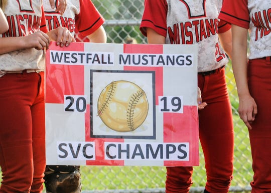 Westfall defeated Zane Trace 4-0 Thursday afternoon at Westfall High School to win their second consecutive SVC Gold Ball.