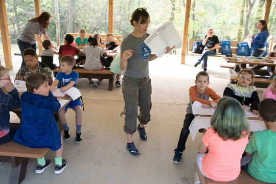 As part of the Science, Technology, Engineering and Math (STEM) program, students from Chillicothe Primary School visited Buzzards Roost Nature Preserve to learn hands-on about the wind and its affects on nature.