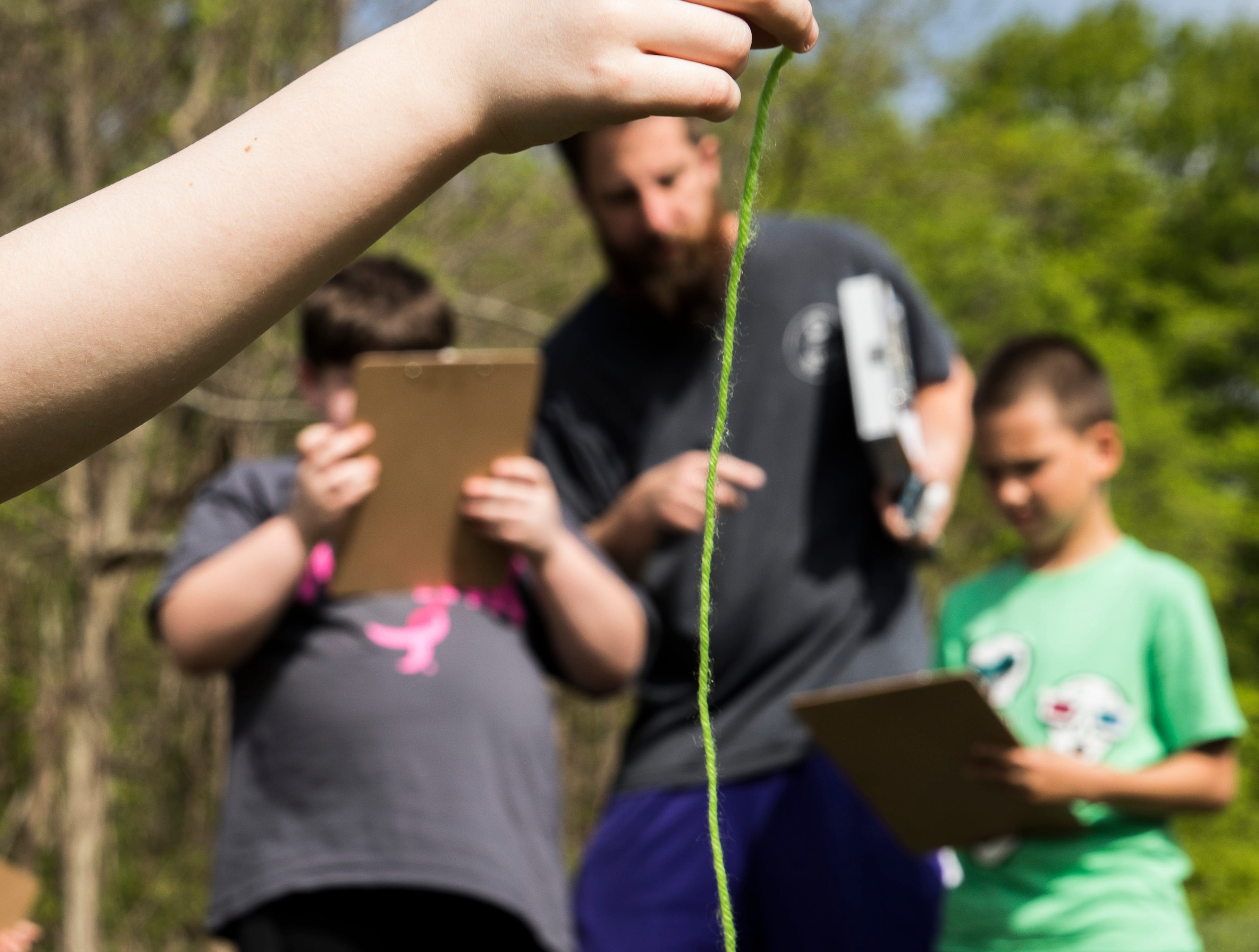 As part of the Science, Technology, Engineering and Math (STEM) program, students from Chillicothe Primary School visited Buzzards Roost Nature Preserve to learn hands on about the wind and its affects on nature.