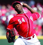 Closer Aroldis Chapman threw what was the fastest recorded pitch in major league history, a 106 miles-per-hour fastball, in 2011.