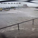 WATCH: Surveillance footage captures flash flood in downtown Davenport after floodwall fails