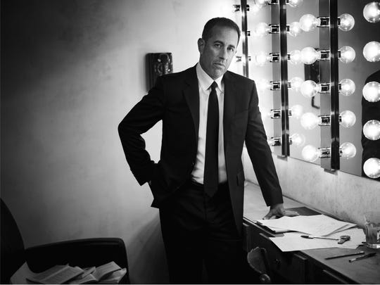 Jerry Seinfeld brings his Seinfeld Live tour to Hammons Hall on Oct. 23.