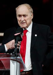 Red Kelly, the Hockey Hall of Famer who had his No. 4 retired by the Red Wings in 2019, died at age 91 on May 2 in Toronto.