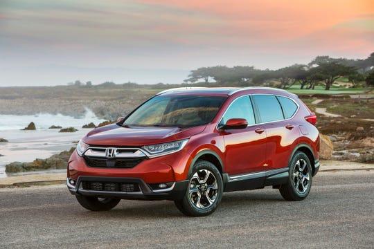2019 Honda CR-V equipped with Honda Sensing®