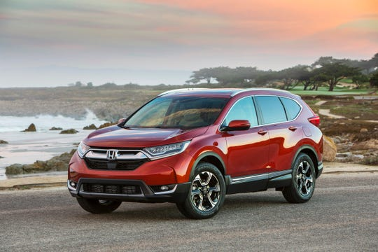 2019 Honda CR-V equipped with Honda Sensing®