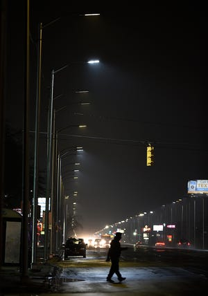 "The Public Lighting Authority in its complaint against Leotek Electronics USA notes that upward of 20,000 LED lights are ""prematurely dimming and burning out"" and putting the city's revitalization progress ""in jeopardy."""