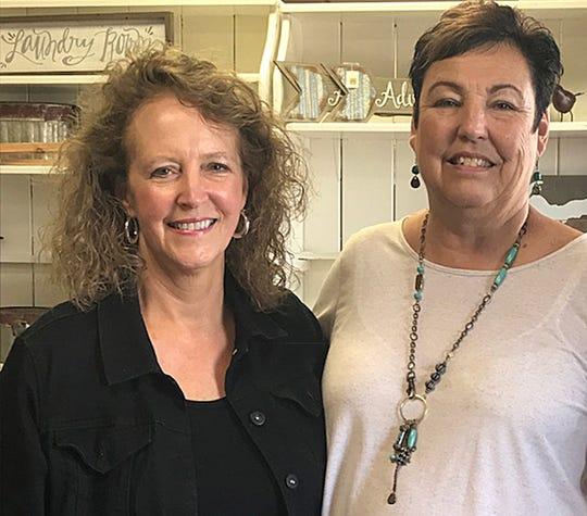 Owners Barb Langerak and Cheryl Van Haitsma.