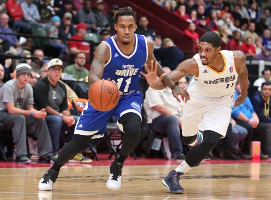 The Grand Rapids Drive could move from the DeltaPlex in Walker, Mich. to Van Andel Arena in Grand Rapids.