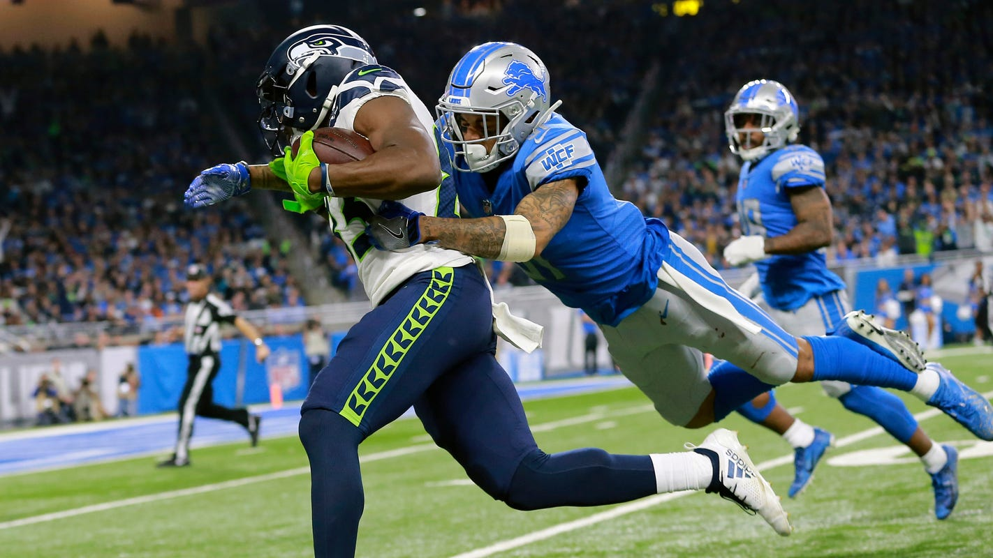 'I've got to learn': Teez Tabor shows signs of meeting Lions' high hopes