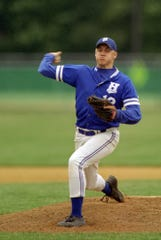 Larry Woodward pitched a four-hitter in Horseheads' 6-2 victory over Binghamton in the Section 4 Class A championship game June 3, 1999 at Cornell University's Hoy Field.