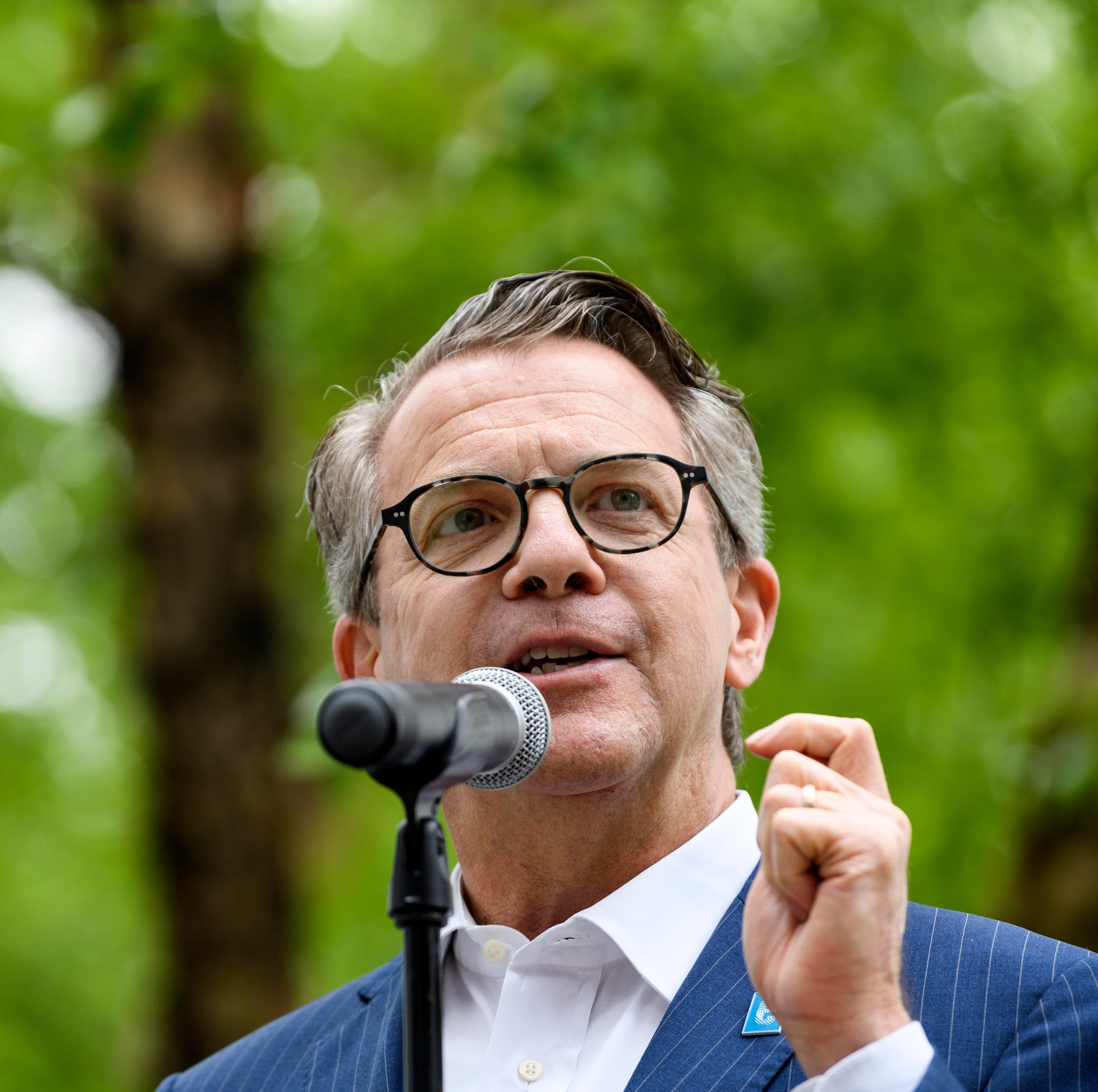 What is Evansville Mayor Lloyd Winnecke's stance on abortion? | Webb