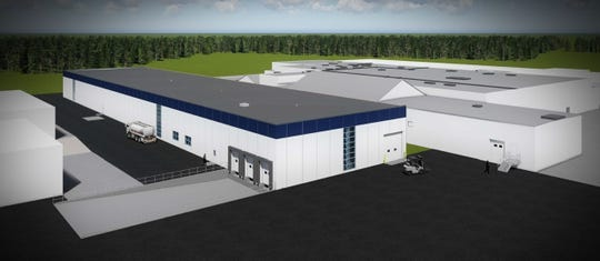 A rendering of the expanded Plant 98 Propeller Plant.