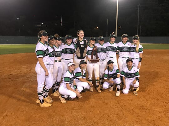 Four home runs, including a first-inning 2-run shot from pitcher Vivian Ponn lifted Fort Myers to an 8-0 win over Charlotte in the District 7A-11 title game, the Green Wave's sixth district title in a row.