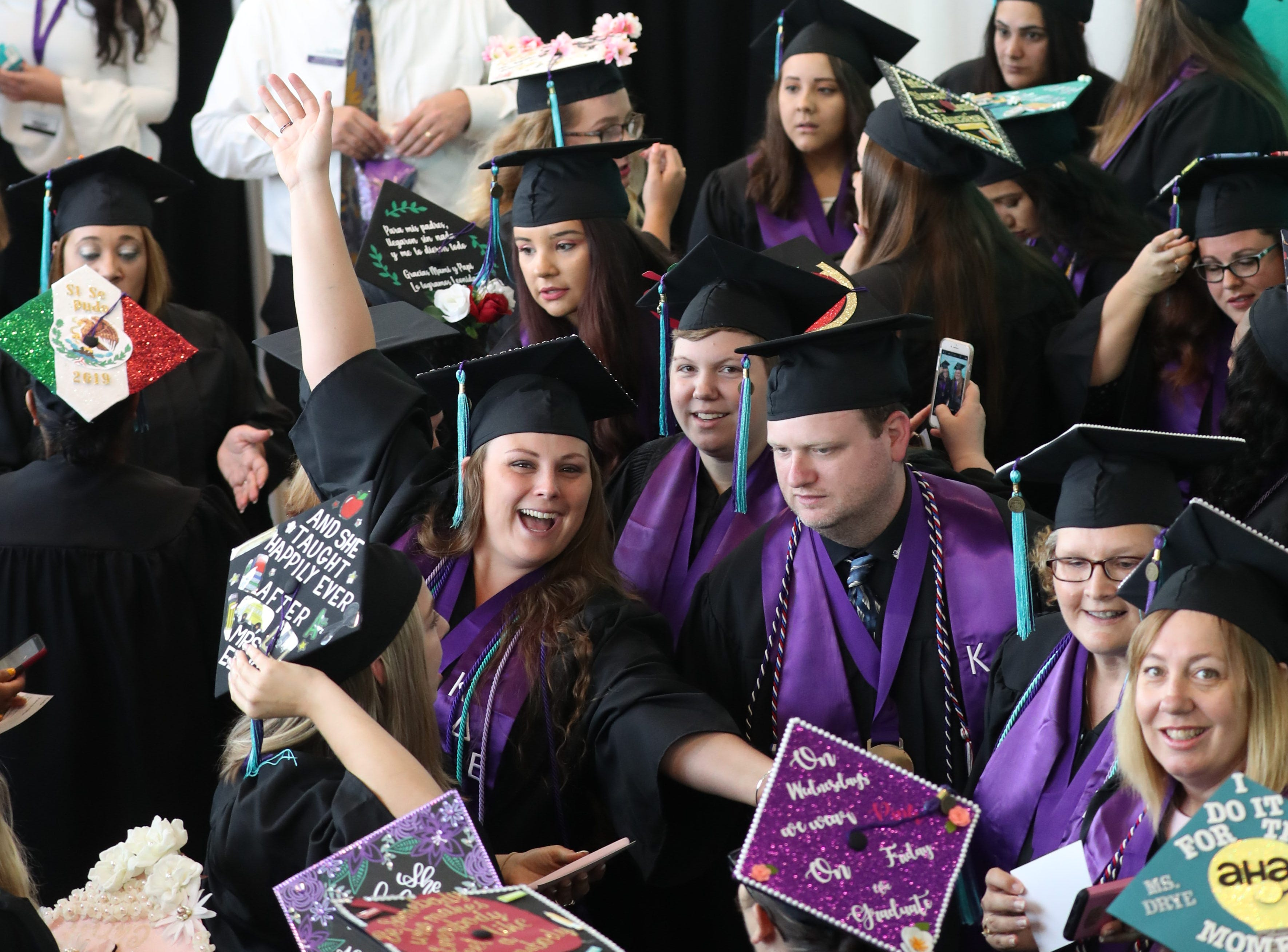 Students graduate from Florida Southwestern State College on Friday morning, May 3, 2019, in Fort Myers.
