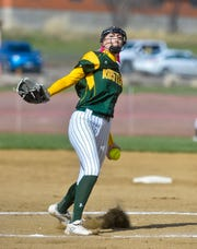 Madison Moore is one of the state's hardest-throwing pitchers.
