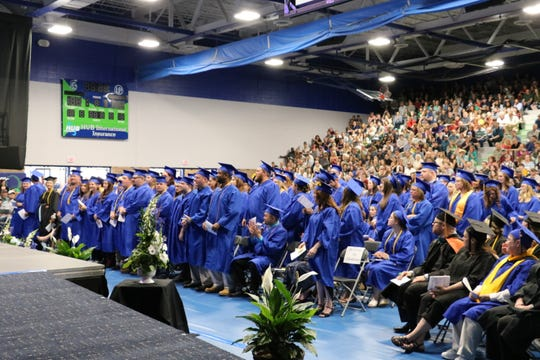 The 2018 graduating class of Great Falls College MSU.